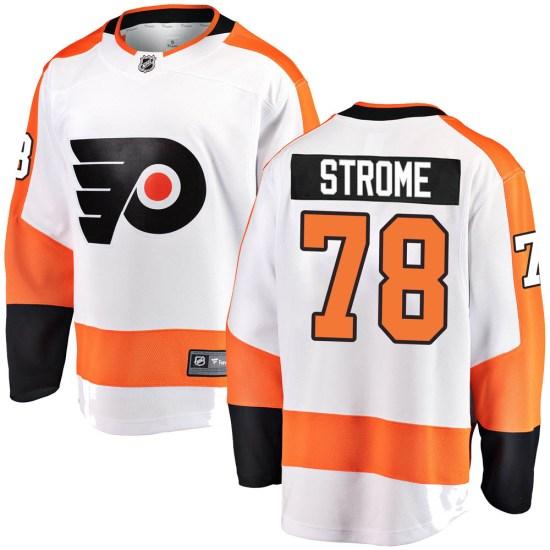 Matthew Strome Philadelphia Flyers Youth Breakaway Away Fanatics Branded Jersey - White