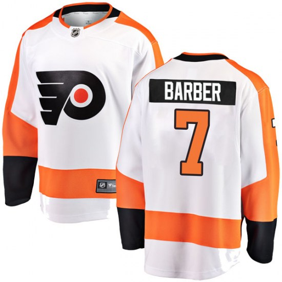 Bill Barber Philadelphia Flyers Breakaway Away Fanatics Branded Jersey - White