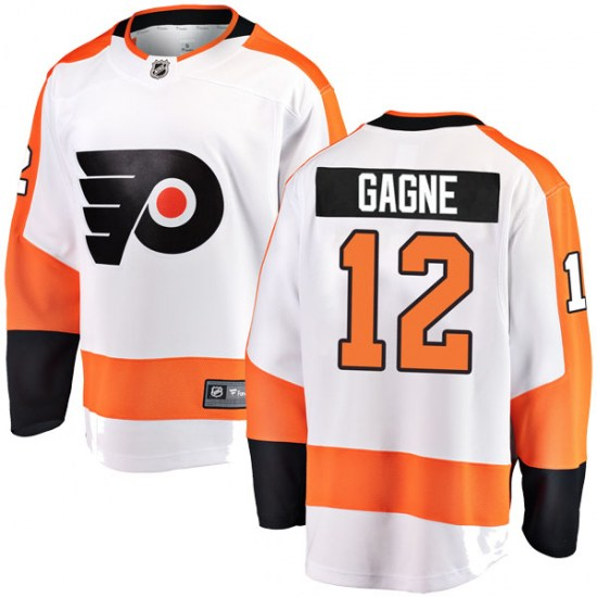 Simon Gagne Philadelphia Flyers Breakaway Away Fanatics Branded Jersey - White