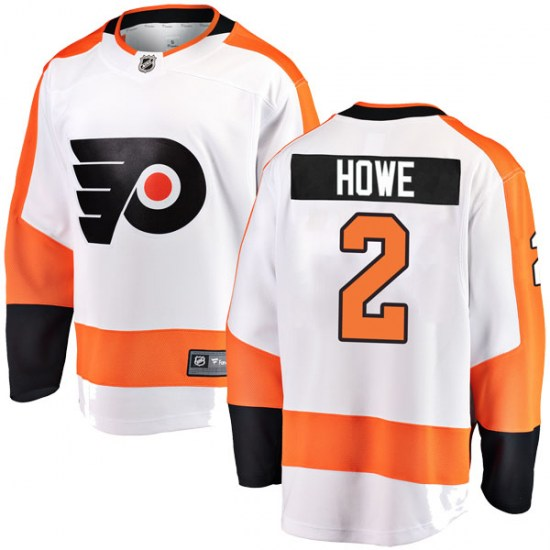 Mark Howe Philadelphia Flyers Breakaway Away Fanatics Branded Jersey - White