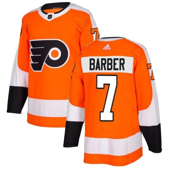 Bill Barber Philadelphia Flyers Youth Authentic Home Adidas Jersey - Orange