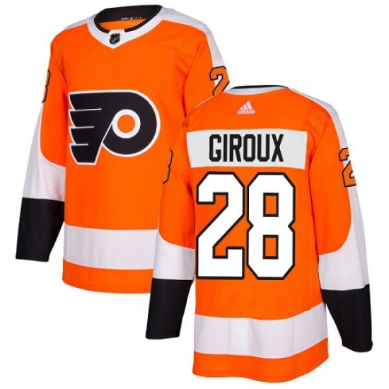 Claude Giroux Philadelphia Flyers Youth Authentic Home Adidas Jersey - Orange