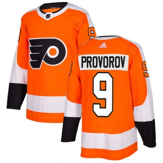 Ivan Provorov Philadelphia Flyers Youth Authentic Home Adidas Jersey - Orange