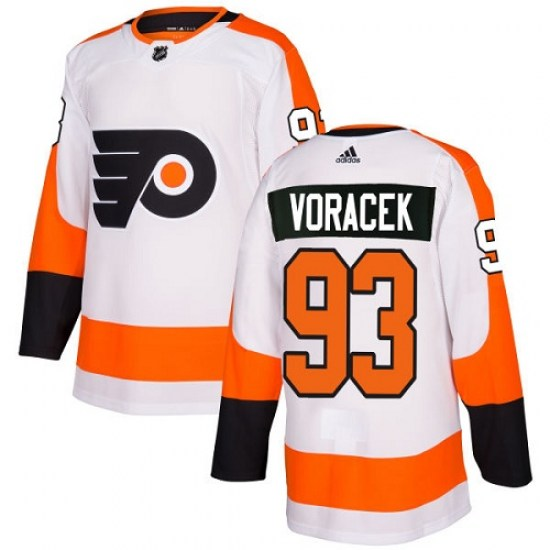 Jakub Voracek Philadelphia Flyers Youth Authentic Away Adidas Jersey - White