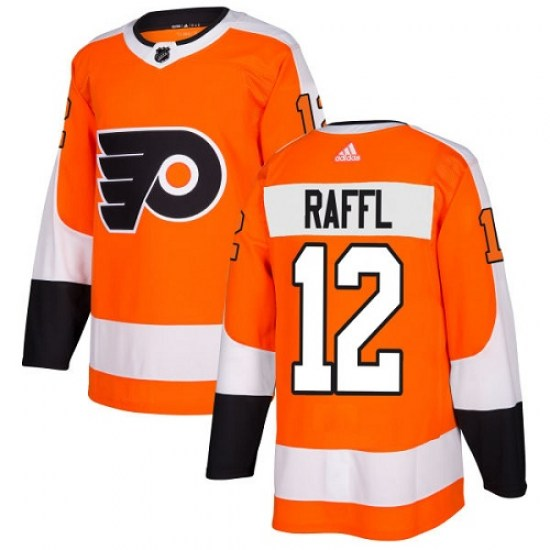 Michael Raffl Philadelphia Flyers Youth Authentic Home Adidas Jersey - Orange
