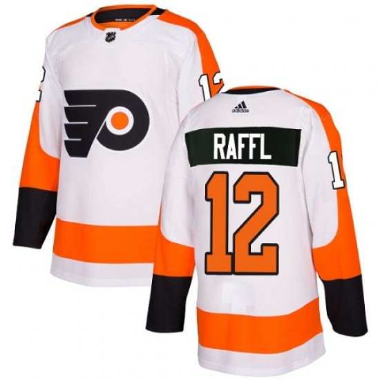 Michael Raffl Philadelphia Flyers Youth Authentic Away Adidas Jersey - White